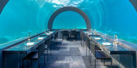 Underwater Dinner @ H20